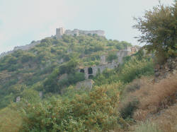 Mystra et son chateau